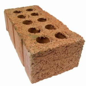 Close up of a brick