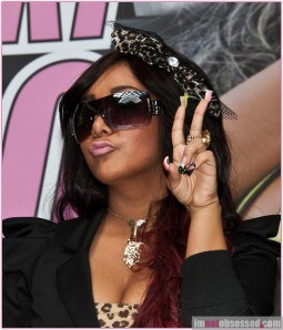 "Snooki"" Promotes Her New Line Of Designer Sunglasses"